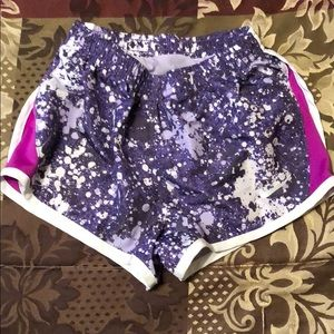 Purple Nike shorts size 4t